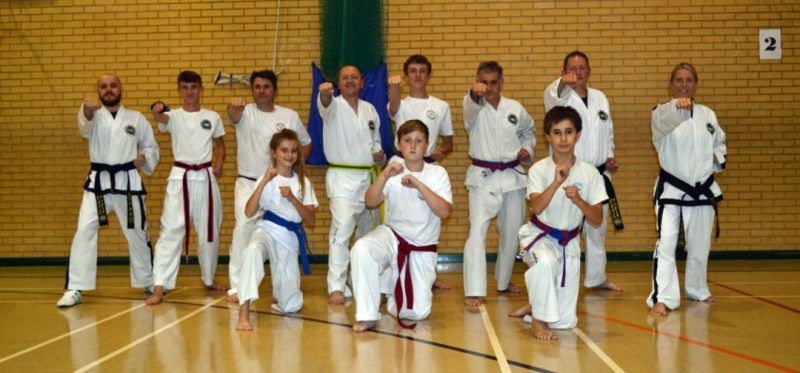Taekwondo-Sherborne-Wednesday-class